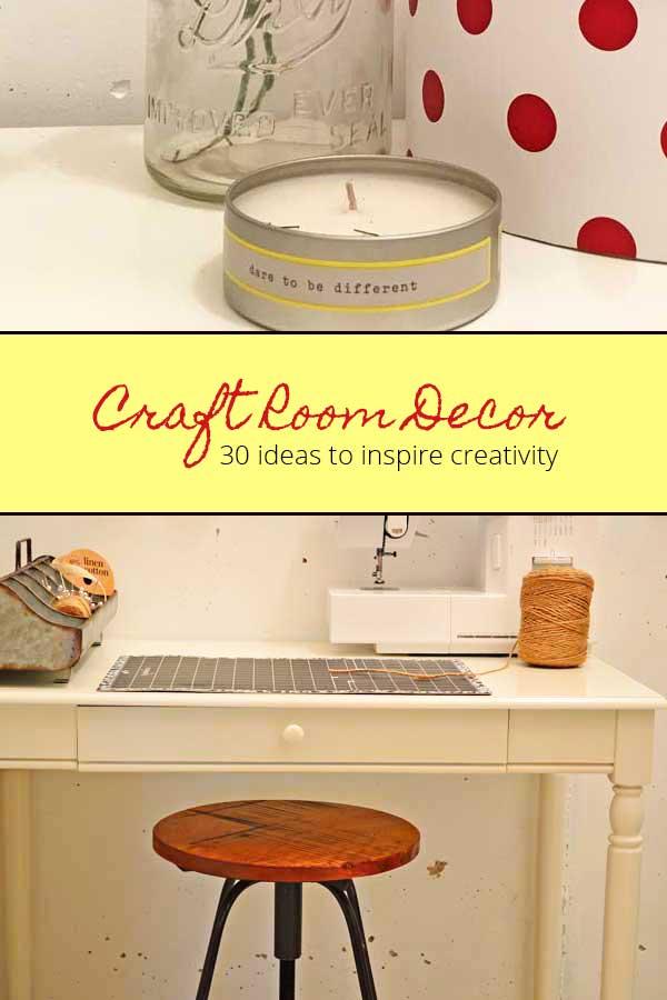 craft room decor ideas