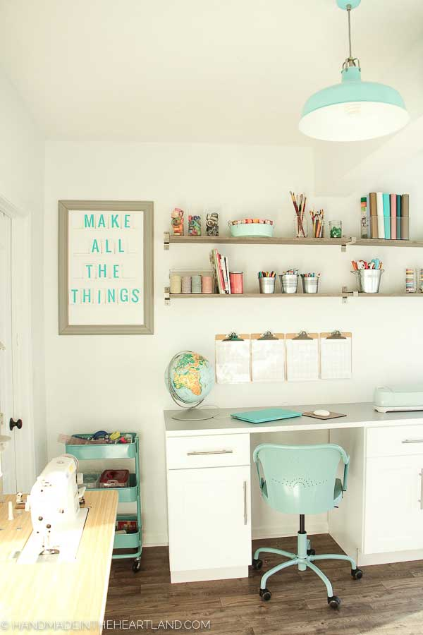 craft room inspirational sign