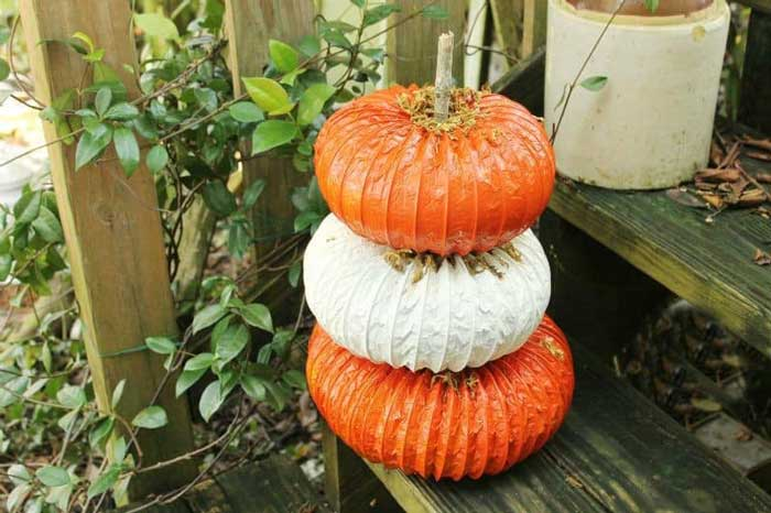 dryer vent pumpkins
