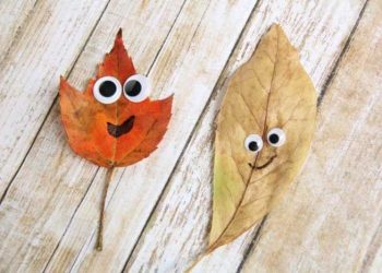 leaf crafts for preschoolers