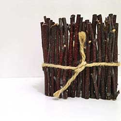 diy twig candle holder craft rustic decor accessory