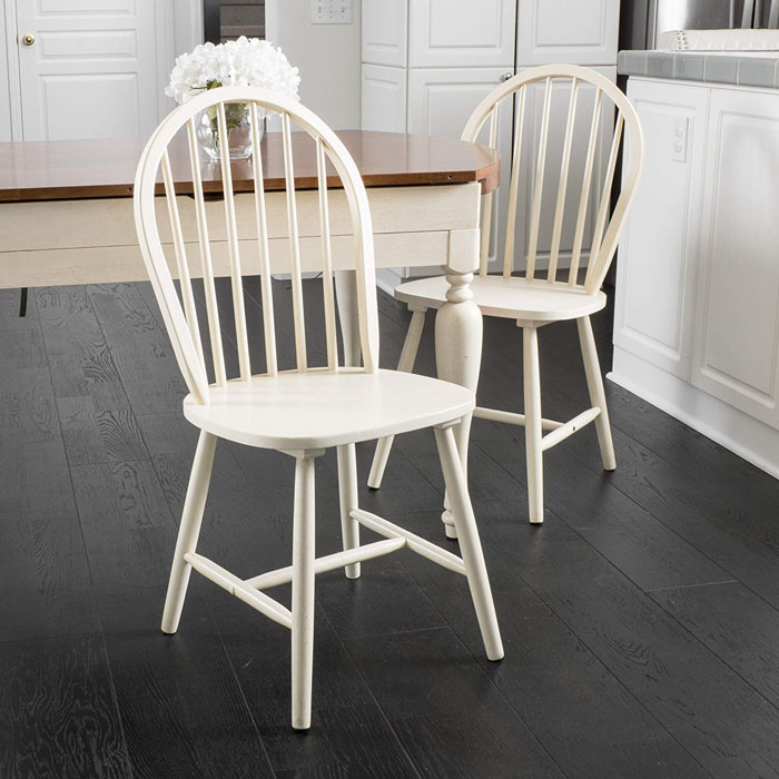 rustic dining chairs