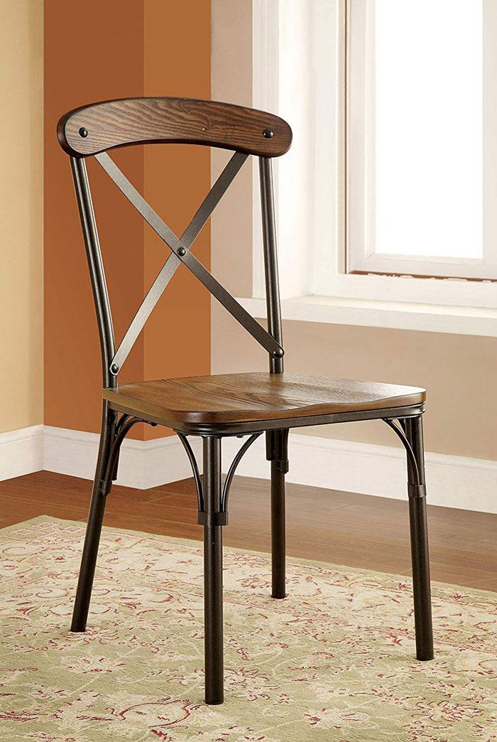 industrial style kitchen chair