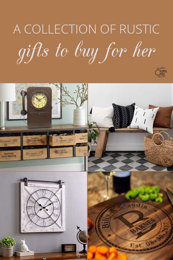 rustic gifts for her