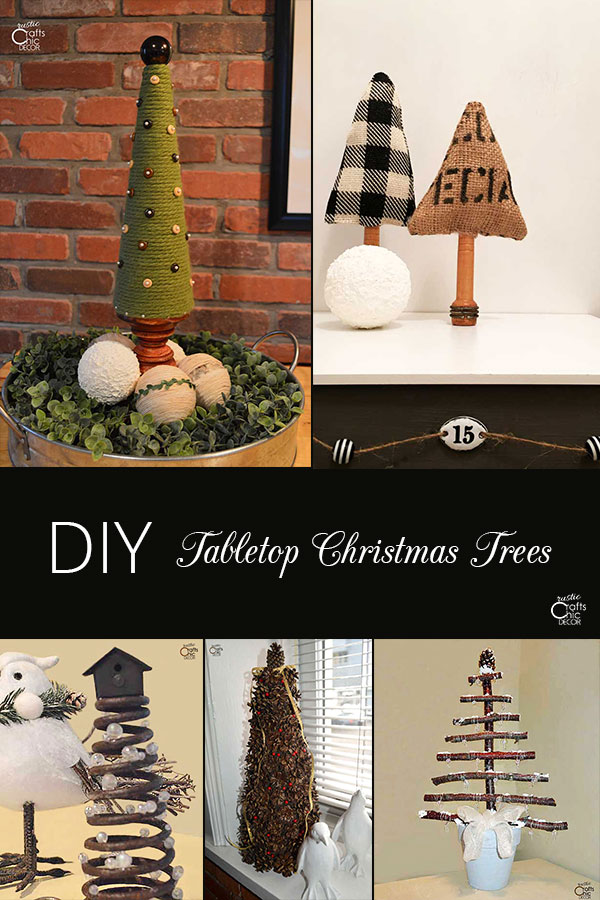 tabletop Christmas tree ideas