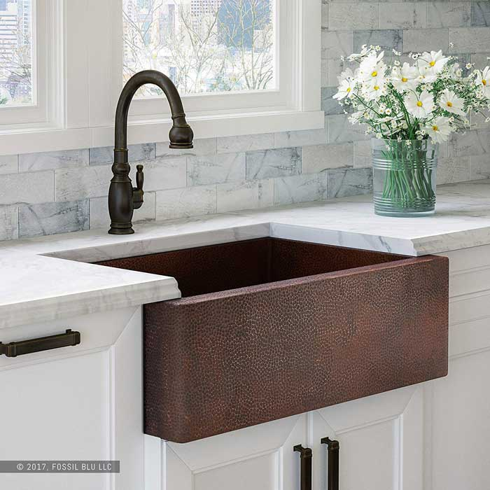 modern rustic kitchen finishes