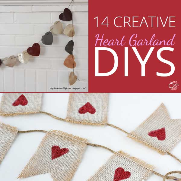 heart garland feature