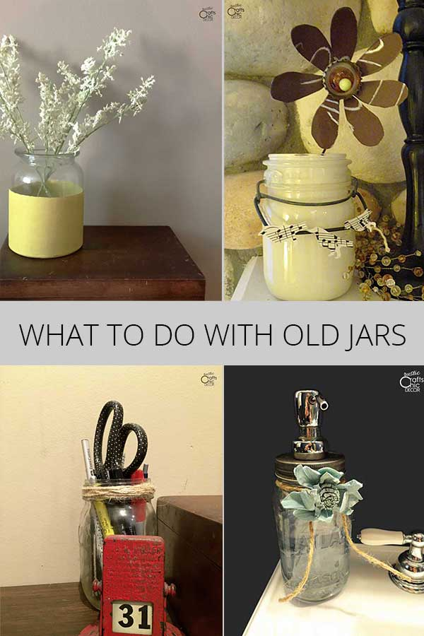 what to do with old jars