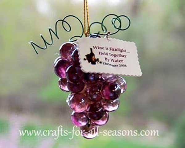 diy marble grape cluster