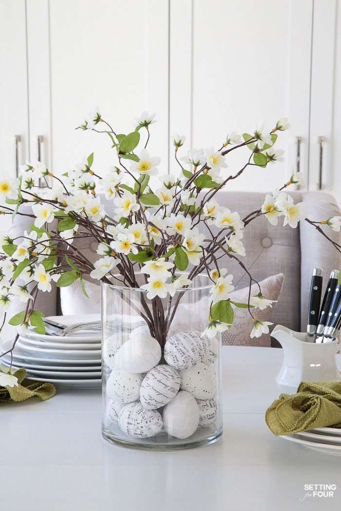 easter egg vase filler
