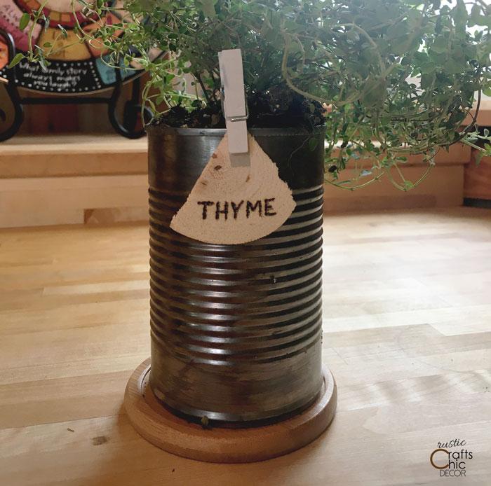 diy herb label