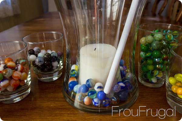 marble vase filler