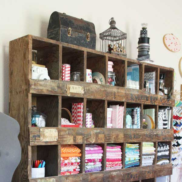 vintage craft room ideas