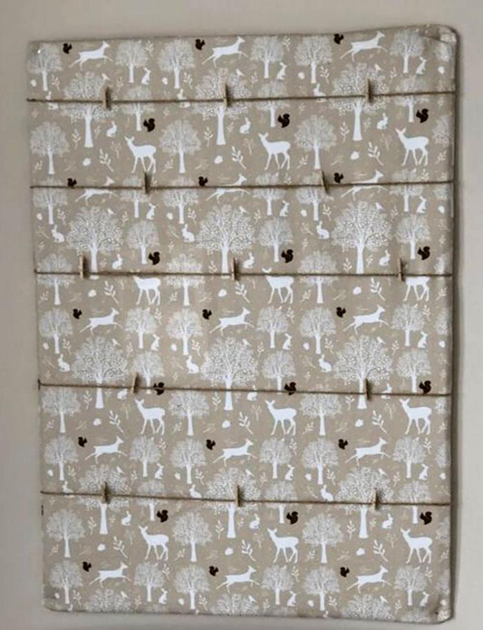 diy cardboard photo display