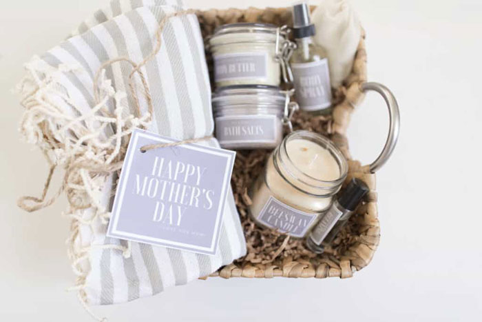 mothers day diy gift basket