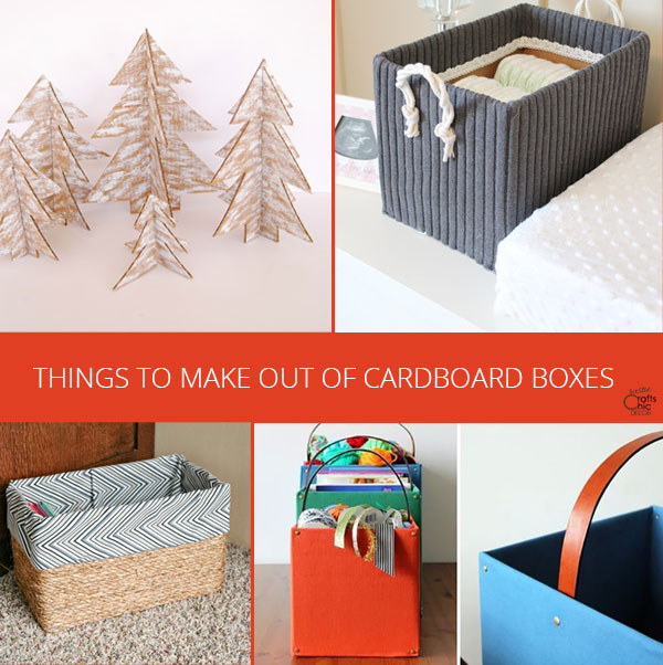 things to make out of cardboard boxes