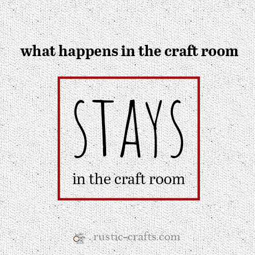 good quotes for craft room