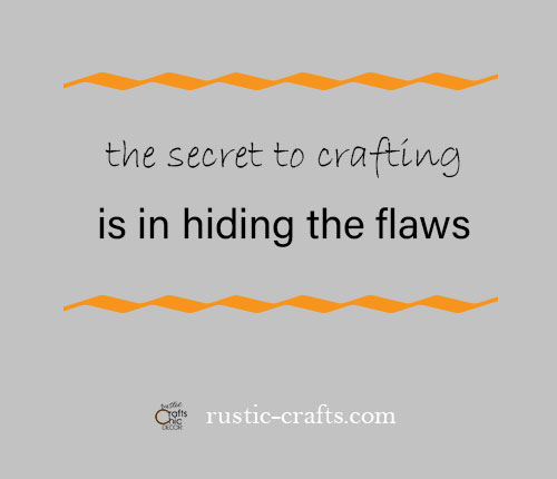 good quote on crafting