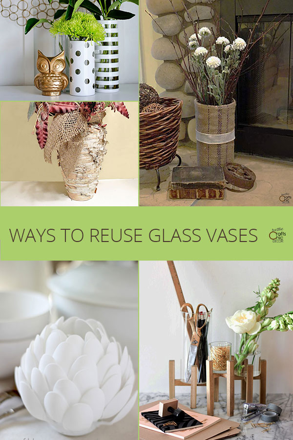 what to do with old vases