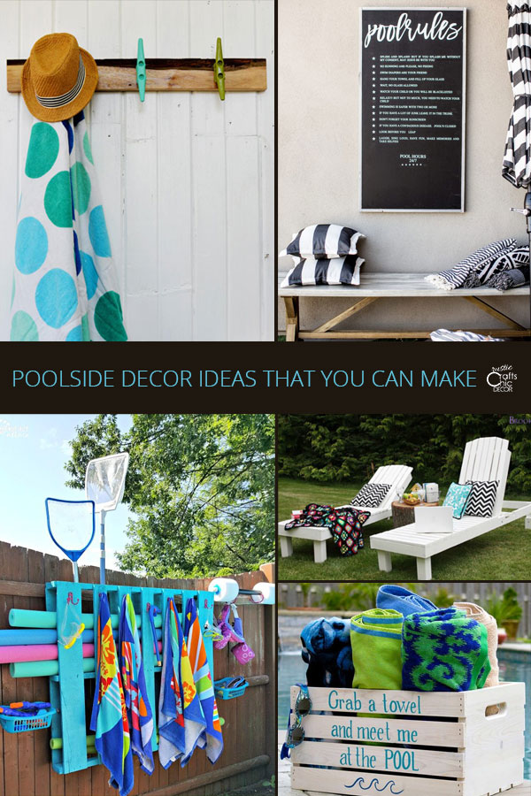 poolside decor
