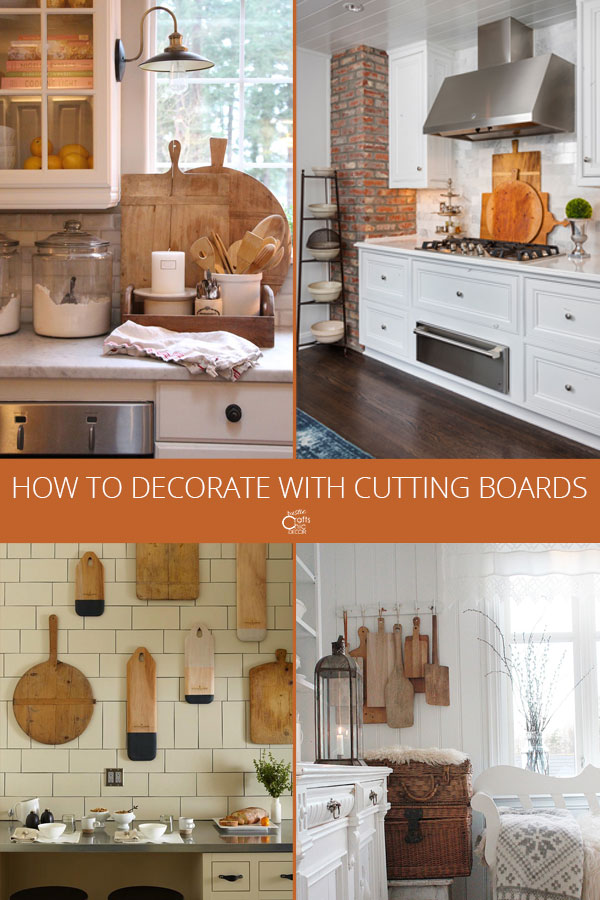 decorating with cutting boards