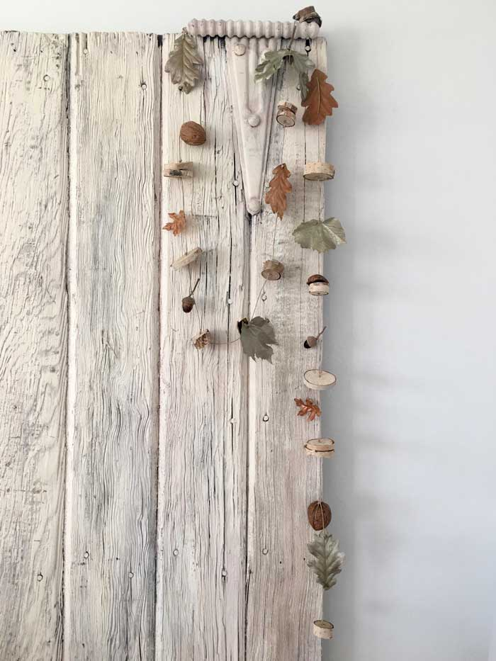 diy autumn garland