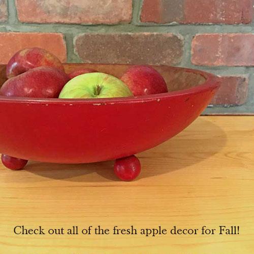 fresh apple decor