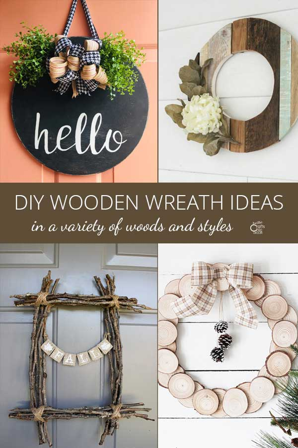 wooden wreath ideas
