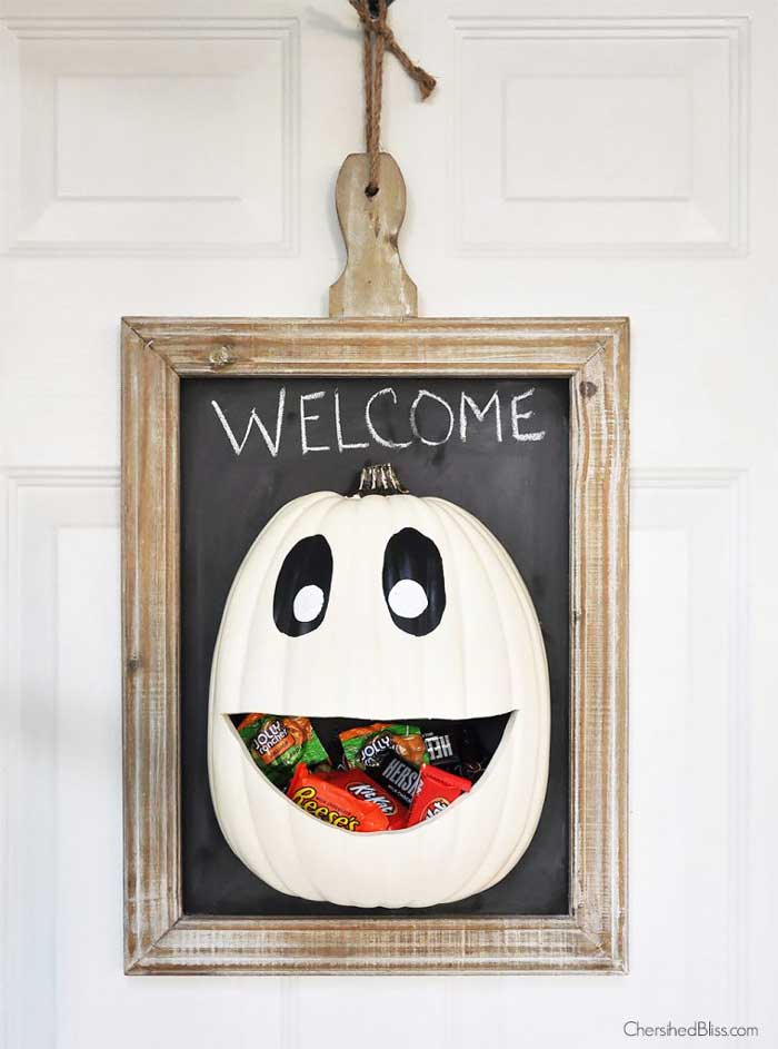 halloween door hanger diy
