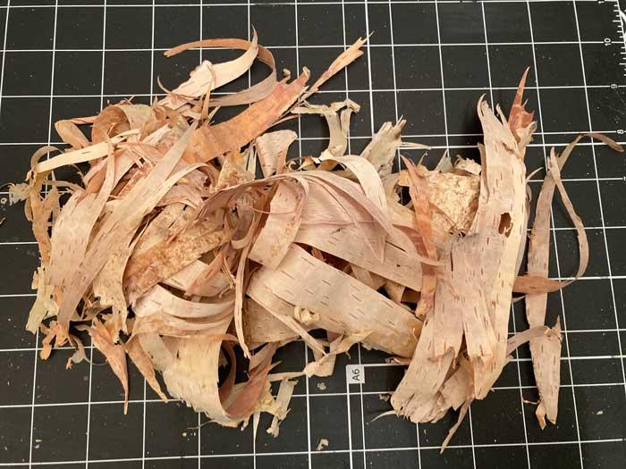 bark pile