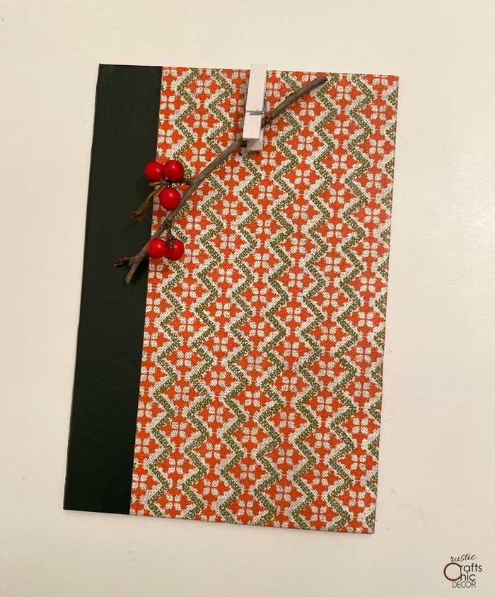 book cover clipboard