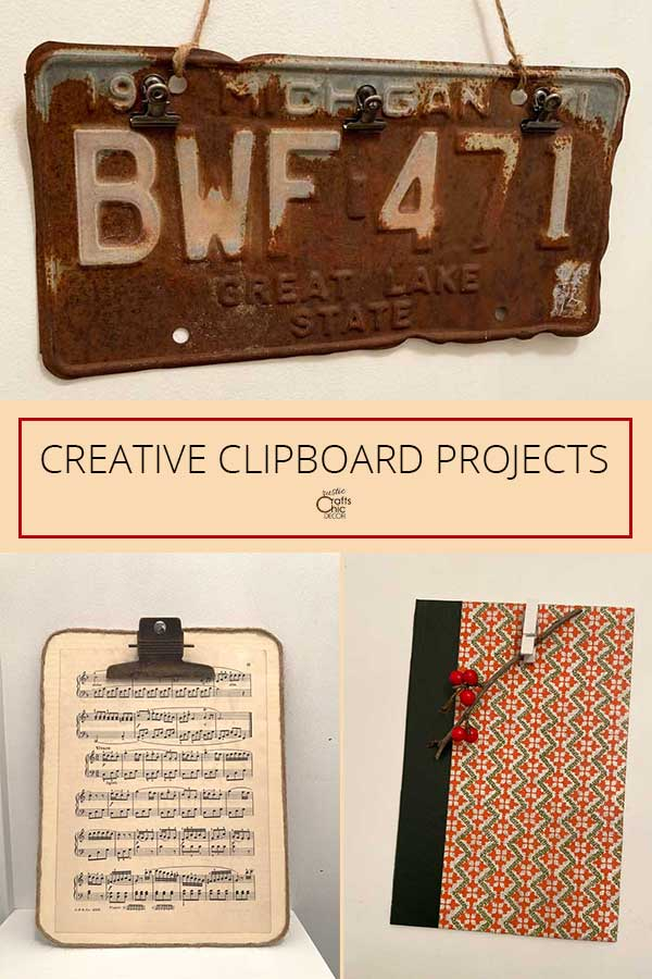 diy clipboard projects