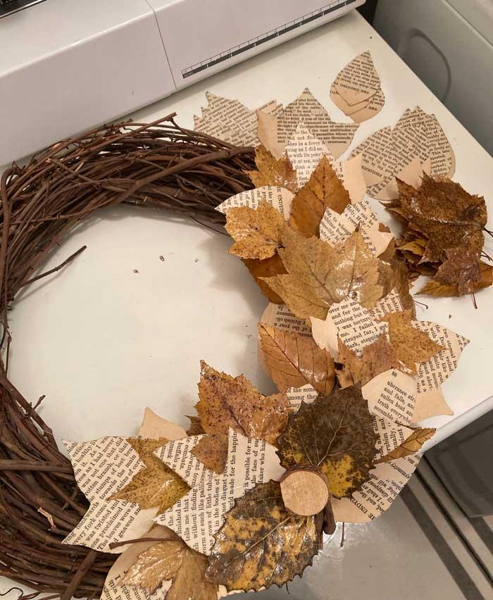 diy fall wreath embellishments