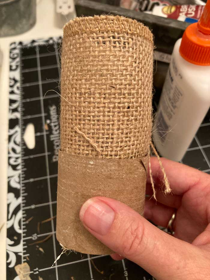 diy toilet paper roll napkin ring