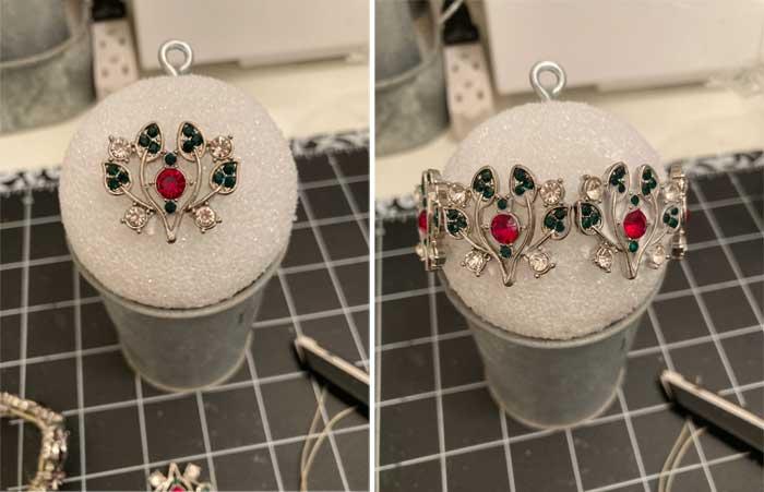 diy jewelry ball step two