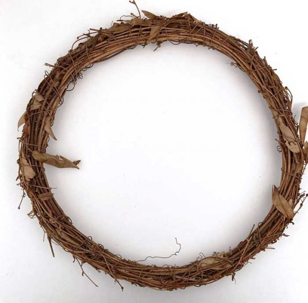 grapevine wreath form