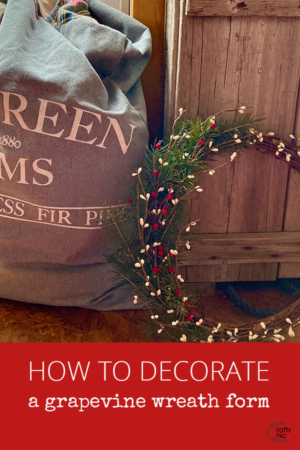 how to decorate a grapevine wreath