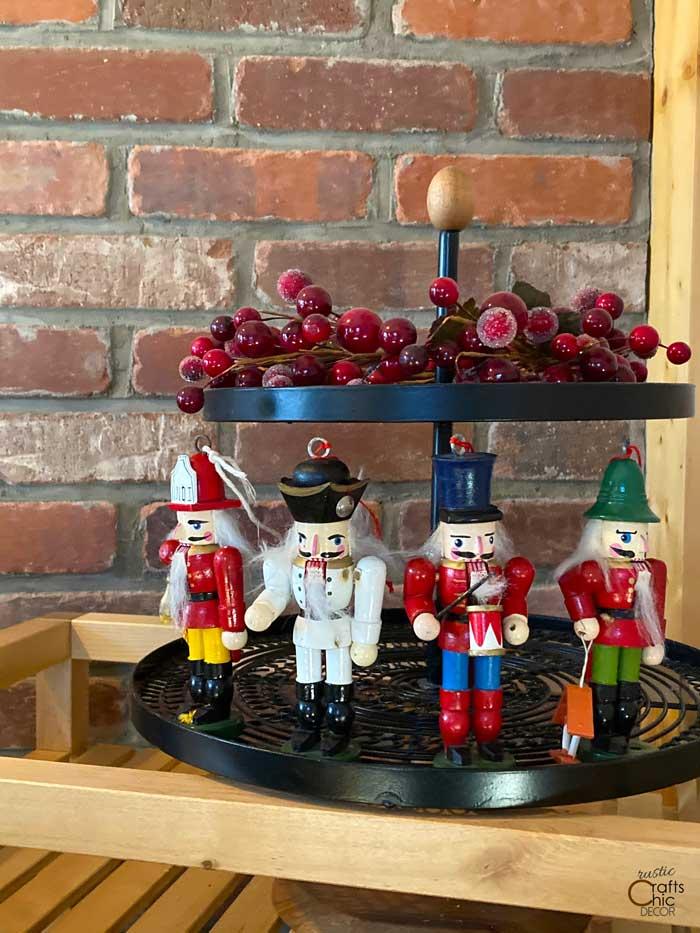 nutcracker ornament display