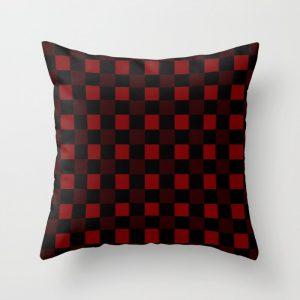 hunter plaid pillow