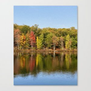 reflection wall canvas
