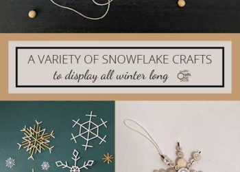 snowflake ornament crafts