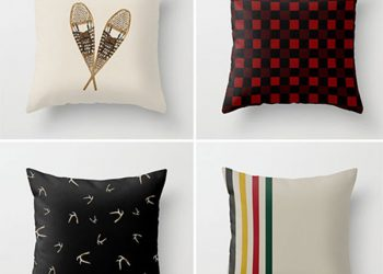 winter throw pillows