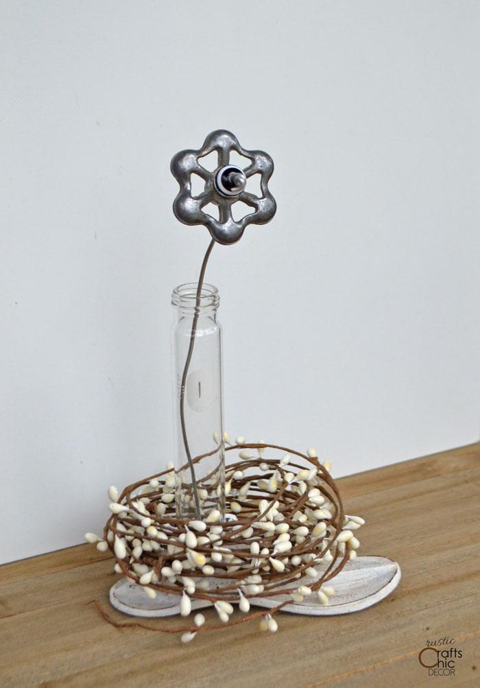 diy industrial flower