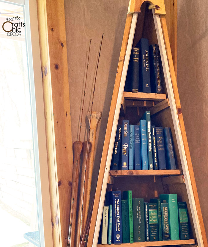 organize books by color