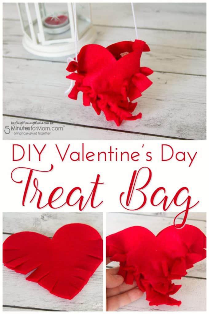 heart fringe treat bags