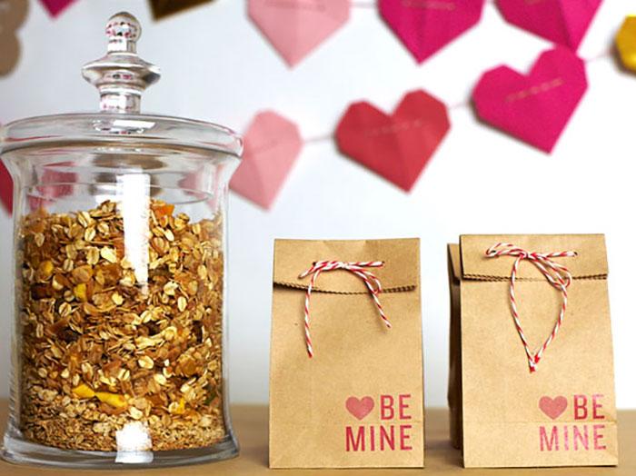 valentine favor bags