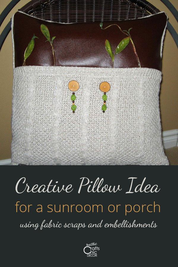 creative pillow ideas