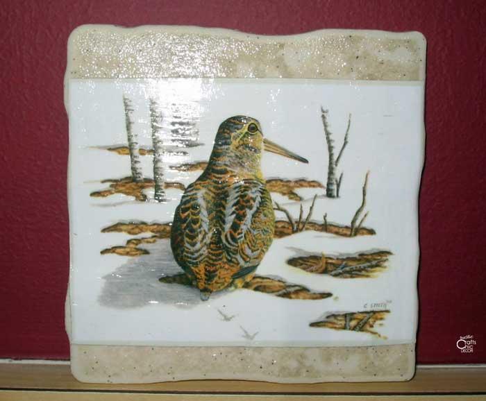 diy ceramic coaster
