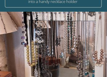 necklace holder diy