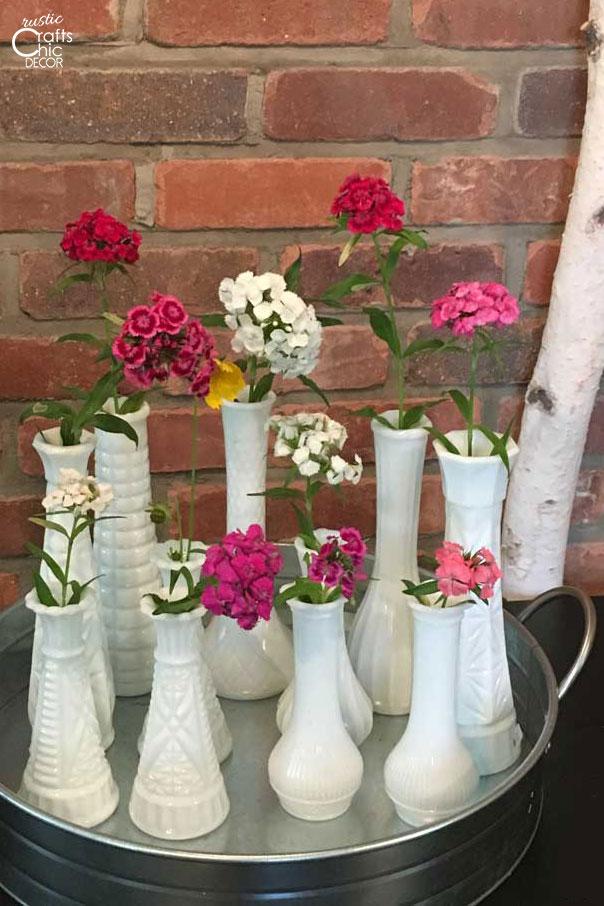 cottagecore fresh flowers